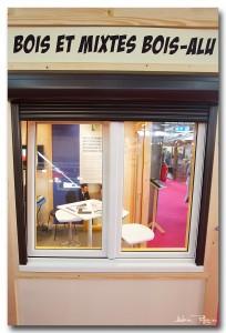 fenêtre mixte bois-alu et volet roulant