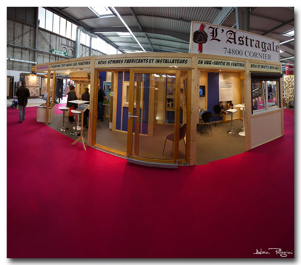 Stand panorama for Conception stand de foire